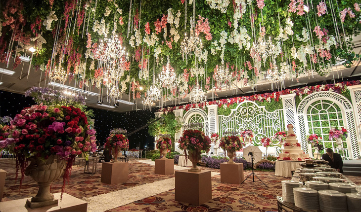 Flower Decoration for Wedding in Ghitorni