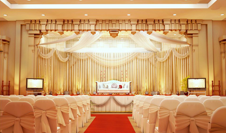 Wedding stage decorations in Delhi