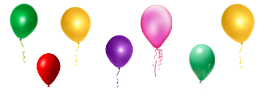 decorative balloon decor for 1st Birthday Party