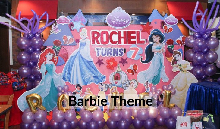 Birthday Party themes for girls in Delhi