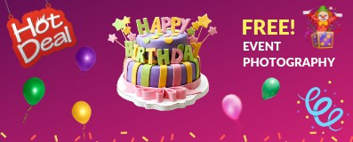 1st Birthday Party Offers in Kalkaji