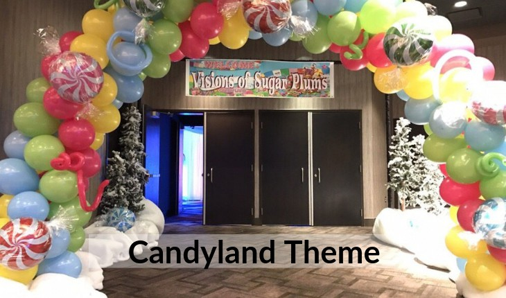 candyland theme Birthday Party decorations Delhi