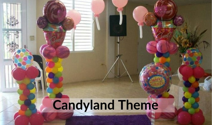 boys candyland themes for Birthday Party planners in Delhi