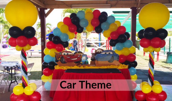 themes for Birthday Party places in Delhi