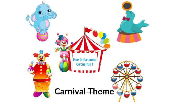carvinal themes for Birthday Party by planners in Delhi