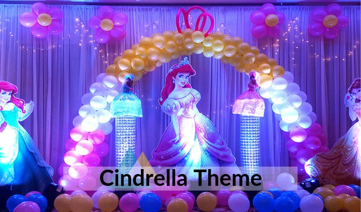 themes for girls their Birthday Party in Delhi