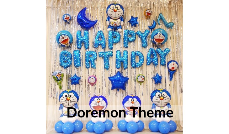 doremon decorations for Birthday Party in Delhi