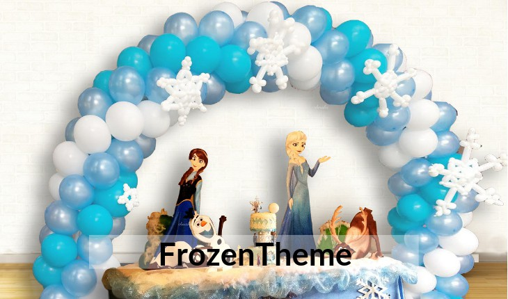 frozen themes for Birthday Party planners in Delhi
