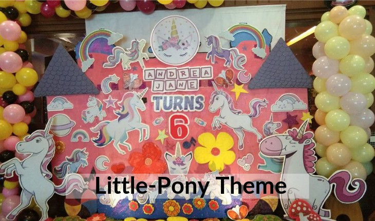 little pony themes Birthday Party places in Delhi