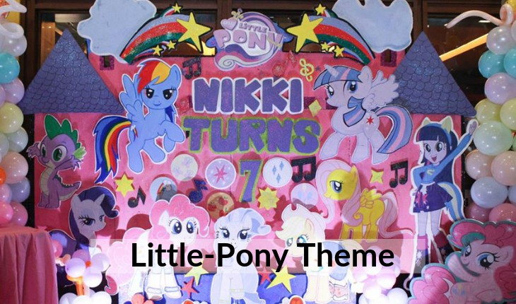 Birthday Party planners for little pony themes in Delhi