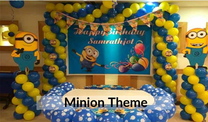 minion themes for Birthday Party planners in Delhi