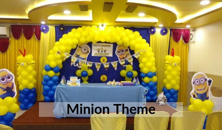 Birthday Party minion themes decorative images inDelhi