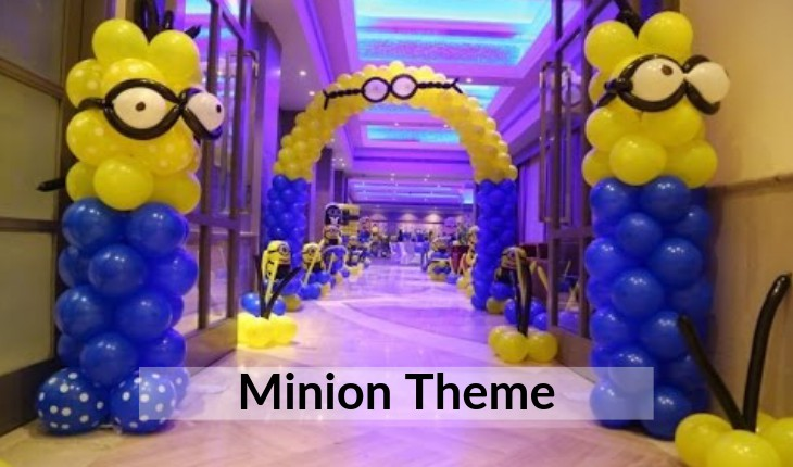 themes Birthday Party places in Delhi