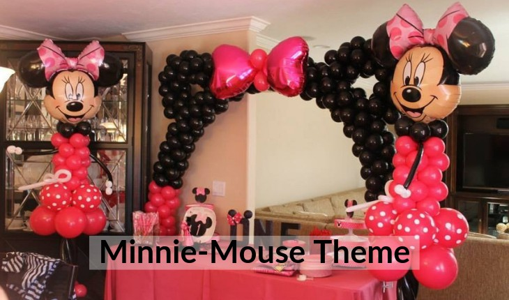 minni mouse themes Birthday Party places in Delhi