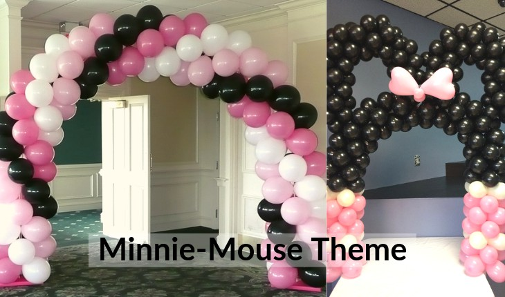 themes of minni mouse Birthday Party places in Delhi