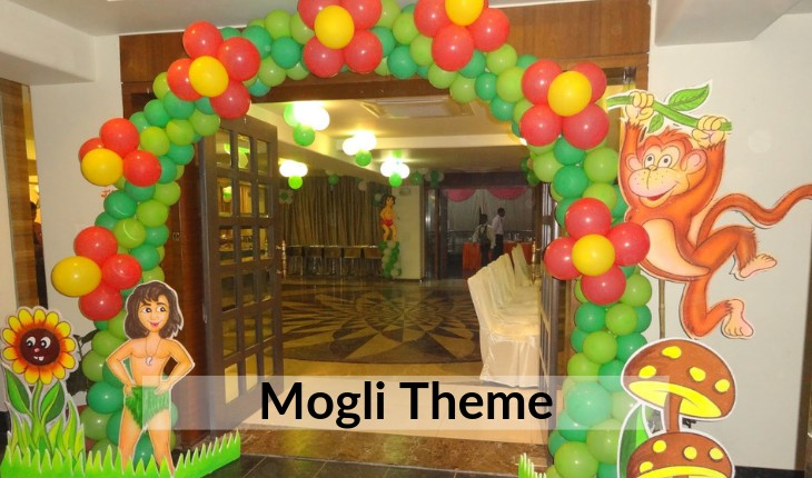 mogli theme for Birthday Party events in Delhi