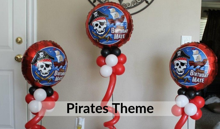 Birthday Party pirates themes decoration in Delhi