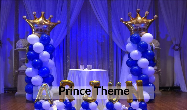 prince themes for boys Birthday Party planners in Delhi