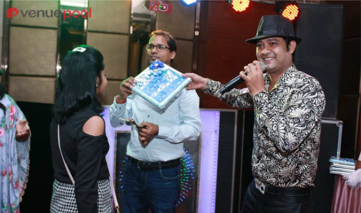 Birthday Party magic show activity in Delhi