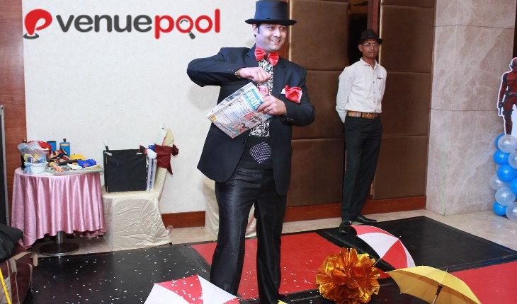 Birthday Party with magician show in Delhi