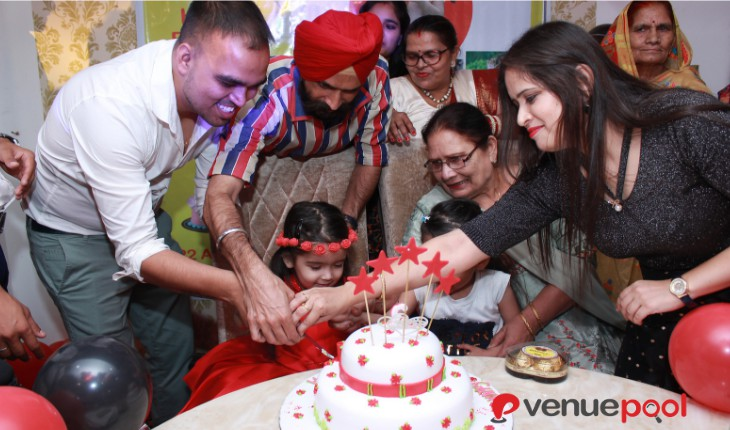 girls Birthday Party venues in Delhi