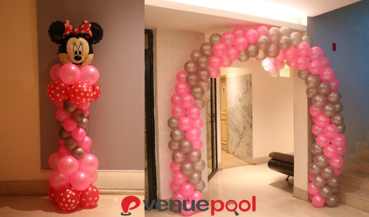 Birthday Party minnie themes based in Delhi