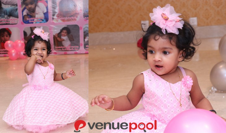 girl Birthday Party in Delhi with decoration