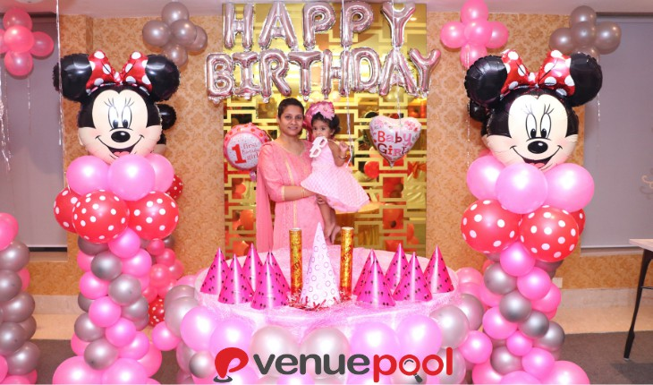 minnie mouse Birthday Party in Delhi