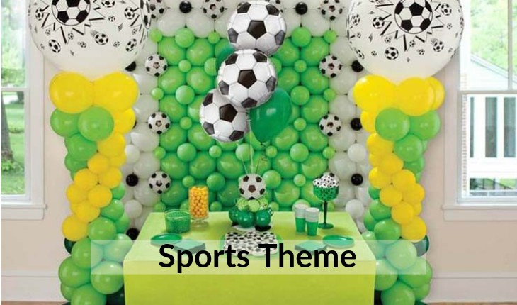 Birthday Party sports themes and planners in Delhi