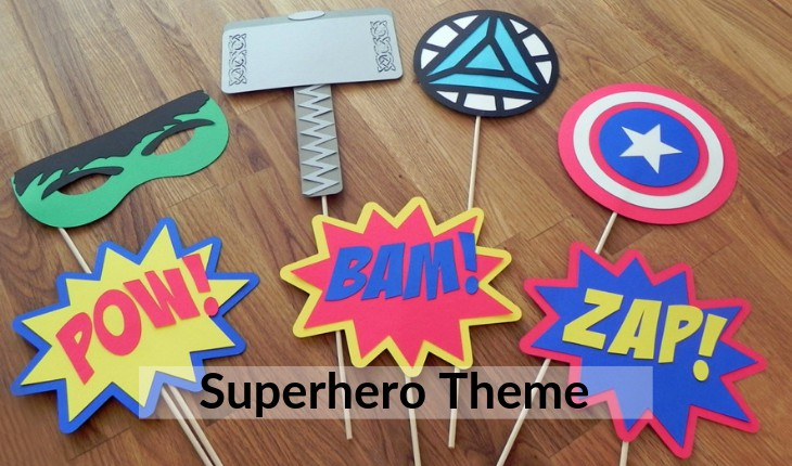 superhero themes for Birthday Party decorative images Delhi