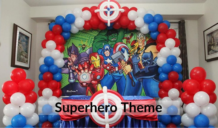 Birthday Party places in Delhi superhero themes