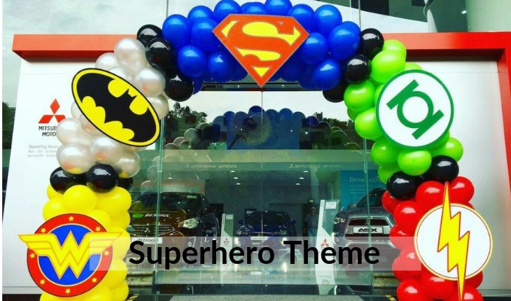 boys themes for Birthday Party places in Delhi