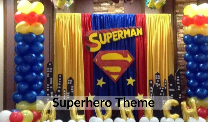 Birthday Party decorations of themes in Delhi