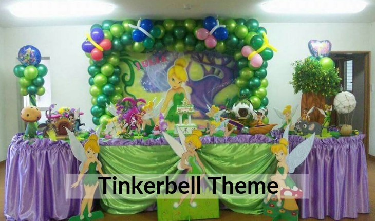 tinkerbell themes for Birthday Party planners in Delhi