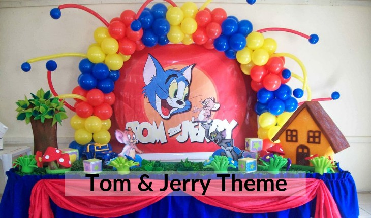 tom and jerry themes for Birthday Party places in Delhi
