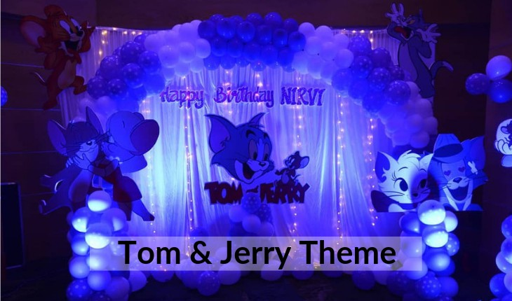 themes of tom and jerry for Birthday Party inDelhi